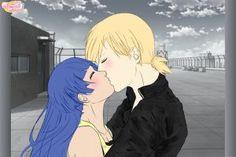 A Kiss (Inojin x Himawari) by Pinky19295