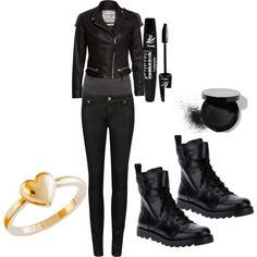 Rocker Girl Style, CAbi's Moto Jacket, Tucked Tunic and Moto Jegging will achieve is look!