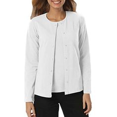 Amy Alder Womens Classic-Fit Basic Button-Front Cardigan in White adds soft premium Egyptian cotton to your red, white and blue celebration. Pair it with our coordinating shell; perfectly keeps cool breezes at bay. Only at GuyGifter!