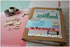 Semanas que pasan como días: Viaje a Escocia (Cuaderno-álbum de viaje)