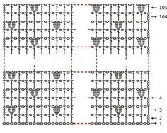 Raccolta di modelli di copertine all'uncinetto per bimbi con schemi. Clicca sulla foto per i modelli e gli schemi.