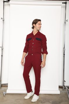 5928729a214d Stylish Mens Jumpsuits. Perfectly fitted