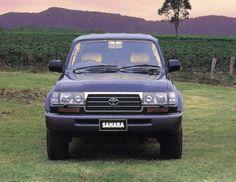 Toyota Land Cruiser 80 Sahara AU-spec (HDJ81V) '1995–97