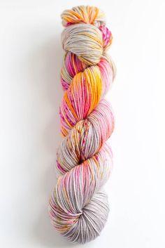 """""""Sunset"""" - 100% Superwash Merino - 4-ply yarn - 438 yards - 100 grams"""