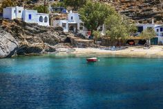the Island of Megalochari Tinos Greece, Santorini Greece, Mykonos, Beach Tops, Greece Travel, Greek Islands, Holiday Destinations, Us Travel, Surf