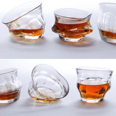 Tipsy glassware - thought these were cool!