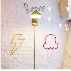 Close up ⚡️! Diy Nursery Decor, Wall Decor, Spool Knitting, Wall Lights, Etsy Shop, Venice, Diy Ideas, Handmade, California