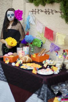 How to Host a Day of the Dead Party -- with style!