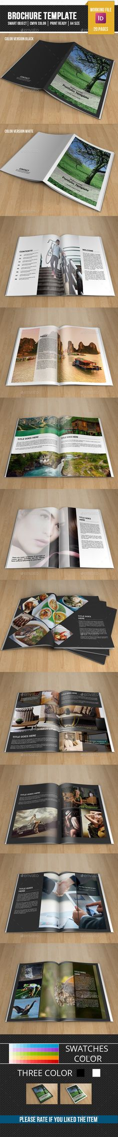 Minimal Photography Portfolio-V281 - Catalogs Brochures