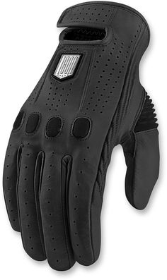 Ministry of Bikes - Icon 1000 Prep Motorcycle Gloves - Black, £106.99 (http://www.ministryofbikes.co.uk/icon-1000-prep-motorcycle-gloves-black.html/)
