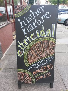 Higher Nature Citricidal - P8W2 Chiswick - July 2015