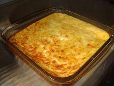 soufle de milho com queijo
