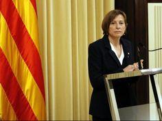 Forcadell: LEstat utilitza el poder judicial per coartar el debat i el dret democràtic del Parlament