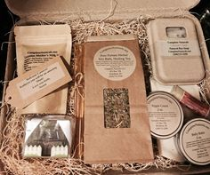 Post Partum Gift Basket-Bulk Herbal Sitz by CompleteNaturalsSoap