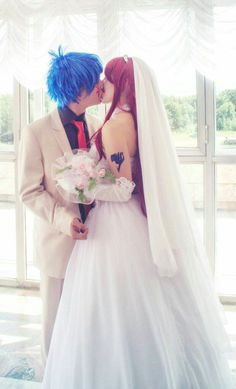 erza x Jellal Cosplay Fairy Tail Erza Cosplay, Top Cosplay, Fairy Tail Cosplay, Cosplay Anime, Cosplay Makeup, Cosplay Outfits, Best Cosplay, Cosplay Costumes, Disney Cosplay