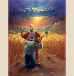 The Prodigal by Christian artist Ron DiCianni is just one of the many fine spiritual art prints for sale at Christ-Centered Art. Christian Artwork, Christian Images, Christian Faith, Bible Pictures, Jesus Pictures, Pictures Images, Jean 3 16, Image Jesus, Prodigal Son