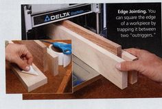Add versatility to your planer with this simple jigging technique.