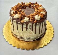 Pöttyös Guru torta – Cake by fari Cake Cookies, Tiramisu, Tart, Food And Drink, Birthday Cake, Sweets, Meals, Cooking, Ethnic Recipes