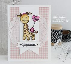 MY LIFE by Silke Ledlow: GINA K. DESIGNS FEBRUARY BLOG HOP DAY 2