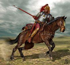 Тяжеловооруженный скифский воин VII - VI век до н.э.Северное причерноморье.Heavily armed Scythian warrior VII - VI century BC the Northern black sea region.