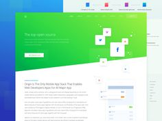 Inner Service Page for Marketing Website by Sergey Pikin