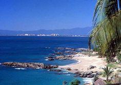 Puerto Vallarta, Mexico Puerto Vallarta Beach, Vallarta Mexico, I Want To Travel, Sandy Beaches, Bay Area, Kayaking, Shells, Kayaks