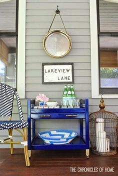 A lot of you asked about the bar cart that was shown in my post a couple weeks ago about the DIY rope mirrorI made and hung on our screened porch. It's actually been around for a long time in one form or another. It started as a rather sad little TV table from Ikea...Read More »