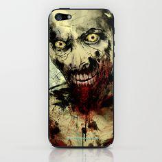 UNDEAD iPhone & iPod Skin by Fresh Doodle - JP Valderrama - $15.00