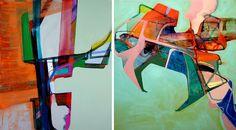 Nick Lamia - Abstract oils