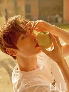 Min Hyun of the group NU'EST released his first solo picture. Star Magazine, Elle Magazine, K Pop, Jin Kim, Akdong Musician, Ahn Jae Hyun, Nu Est Minhyun, Elle Studio, Kim Jaehwan