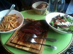 Bavette-salade-frites (pour 2) #LesParigots