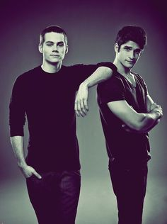 Dylan O'Brian & Tyler Posey Some of my favorite Teen Wolf actors <3