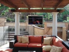 Pin By Paul S Tv Appliances On Patio Backyard Patio Designs Patio Tv Patio Design