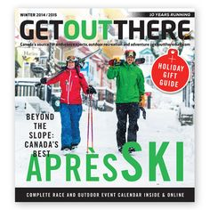 We're proud to be a part of @getoutthere Magazine's Holiday Gift Guide! Be sure to look for us when you flip through. | #yourgear #holidays #gift #guide