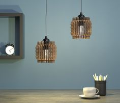 Wave Lampion is a lamp inspired by sound waves with the shape of a Lampion. It…
