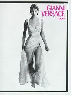 Versace 1994 | Linda Evangelista