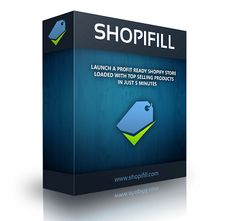 Shopfill Review - Shopifill is the very first automated software tool to build full-feature Shopify stores with just a few clicks in in just a few minutes, in any niche. With #Shopfill you can manage unlimited stores from one easy to use interface.