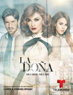 Ver Novela La Doña Online | TelenovelasDK.com