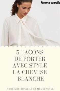 Symbole de l'élégance, la chemise blanche est le must have qui a su se faire une place royale au sein de votre dressing. Et pour cause, par son côté chic mais à la fois cool, cet indispensable mode est votre meilleur allié pour un look stylé et efficace. En modeuse aguerrie que vous êtes, nous vous donnons la mission de sortir du traditionnel assemblage de la chemise blanche avec le classique pantalon droit et la très chic veste blazer. Assemblage, Facon, Graphic, Place, It Works, Dressing, Ruffle Blouse, Boutique, Women