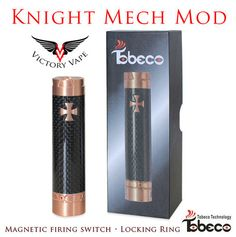 Knight Mod • Copper and CF • Tobeco – Victory Vape