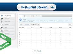 Restaurant Booking System