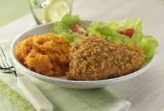 Crunchy Oven-Fried Chicken Makes 6 Servings  $1.85 per serving (As of December 2012) People often turn to chicken when they're looking for w...