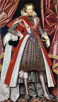 Philip Herbert, 4th Earl of Pembroke.  c.1615. William Larkin (1580–1619)