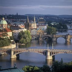 Enjoy a one-week stay to the city of Prague in the Czech Republic. Visit Prague Castle, the Charles Bridge and the Jewish Quarter with Smithsonian Journeys Places To Travel, Places To See, Travel Destinations, Time Travel, Travel Around The World, Around The Worlds, Les Balkans, Places Worth Visiting, Prague Castle