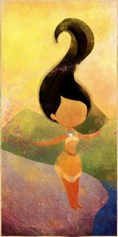 Pocahontas art