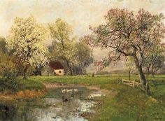 Yaz Ve Sonbahar Tabloları, Ünlü Ressamların Manzara Resimleri, Ressamların Yağlı Boya Manzara Resimleri, Rüya Gibi Ressam Manzara Resim Çalışmaları,