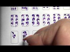 Роспись ногтей! Все Видео уроки! Урок 3 - YouTube