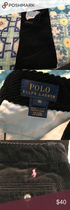 POLO by Ralph Lauren boys corduroy pants Black Polo by Ralph Lauren corduroy pants in great condition Polo by Ralph Lauren Bottoms