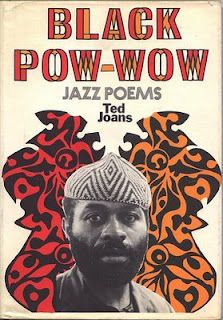 Black Pow-Wow Jazz Poem by Ted Joans #book #cover