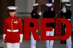 Are you wearing your red? #REDFriday #SupportOurTroops